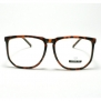 Turtle Shell Oversized Squared Geeky Clear Lens Eyeglasses Frame
