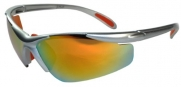 JiMarti JM01 Sunglasses for Golf, Fishing, Cycling-Unbreakable-TR90 (Silver & Orange)