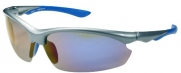 Polarized P52 Sunglasses Superlight Unbreakable for Running, Cycling, Fishing, Golf (Grey & Revo Blue)