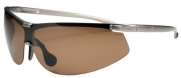 P343 Polarized Sport Wrap Sunglasses Unbreakable TR90 (Gold)