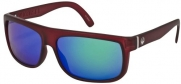 Dragon Wormser Sunglasses Matte Merlot/Green Ionized, One Size