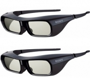 Pair of Sony 3D Active Glasses compatible with KDL46HX750 KDL55HX750 KDL65HX729 KDL46HX850 KDL55HX850 XBR46HX929 XBR55HX929 XBR65HX929