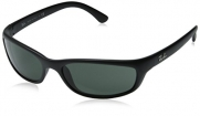 Ray-Ban Sunglasses - RB4115 / Frame: Matte Black Lens: Grey Green