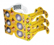 3D Christmas Glasses - Holiday Specs -ELVES - 3 PAIRS - Transform Christmas Lights Into Magical Images